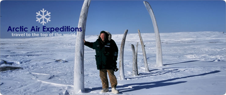 Arctic Air Expeditions guide, Tim Cook